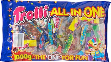 Gommes aux fruits All in One Trolli