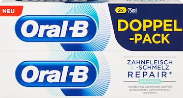 Oral-B Zahnpasta Zahnfleisch und Schmerz