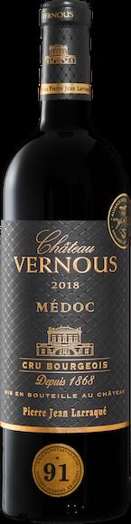 Château Vernous Médoc AOC Cru Bourgeois Vorderseite