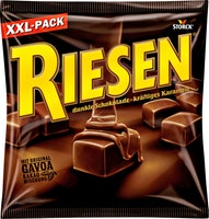 Bonbons au caramel enrobés de chocolat Riesen Storck