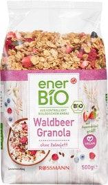 enerBiO Müesli Granola Waldbeere