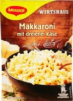 Maggi Wirtshaus Maccaroni mit dreierlei Käse