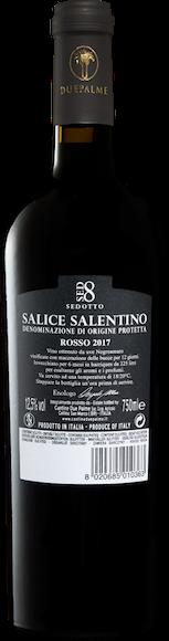 Cantine Due Palme Sedotto Salice Salentino DOP Zurück