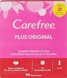 Carefree Slipeinlagen Plus Original