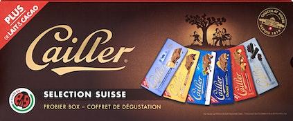 Cailler Tafelschokoladen Séléction Suisse