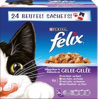 Bocconcini in gelatina per gatti Felix