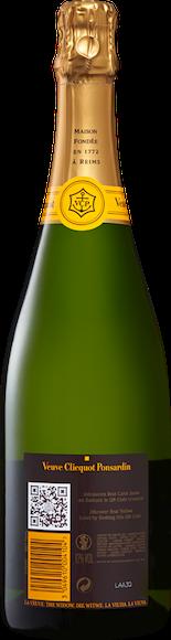 Veuve Clicquot brut Champagne AOC Indietro