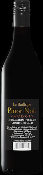Le Bailliage Pinot Noir AOC Vaud  Zurück