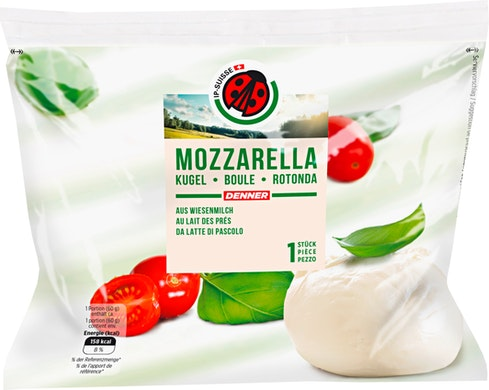 Mozzarella rotonda IP-Suisse