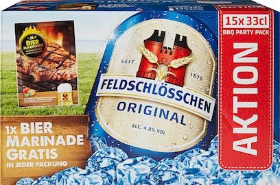 Feldschlösschen Bier Original Barbecue