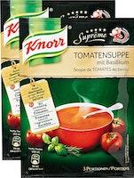 Knorr Suprême Tomatensuppe mit Basilikum