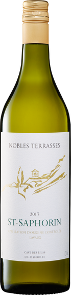 Nobles Terrasses St-Saphorin AOC Lavaux Vorderseite