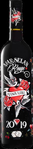 Poison Rouge Marselan Pays d'Oc IGP  Vorderseite