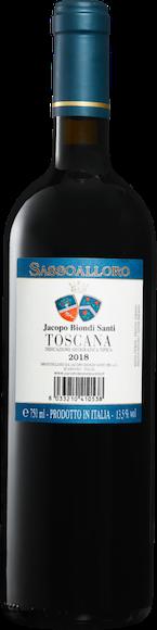 Jacopo Biondi Santi Sassoalloro Rosso Toscana IGT Zurück