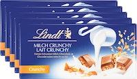 Tavolette di cioccolato Crunchy Lindt