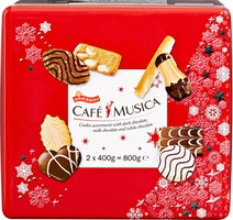 Assortiment de biscuits Café Musica Winter Edition Griesson
