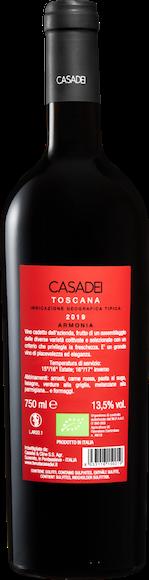 Casadei Armonia Rosso bio Toscana IGT Zurück