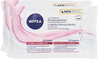 Salviettine detergenti 3 in 1 Nivea