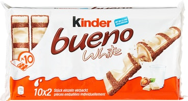 Barres au lait White Kinder Bueno Ferrero