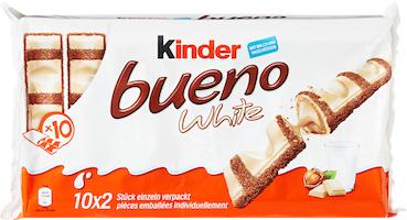 Barrette al latte White Kinder Bueno Ferrero