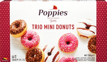Poppies Trio Mini Donuts