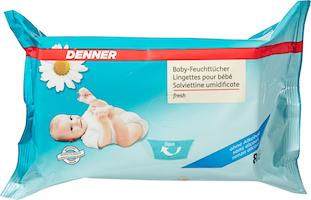 Lingettes humides fresh pour bébé Denner