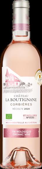 Château La Boutignane Rosé bio Corbières AOP  Vorderseite