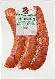 Saucisses paysannes IP-SUISSE