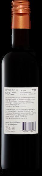Monti Belli Merlot del Ticino DOC Zurück