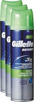 Gel à raser pour peaux sensibles Seires Gillette