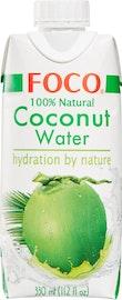 Pura acqua di noce di cocco Foco