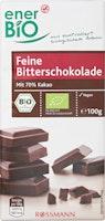 enerBiO Schokolade Zartbitter