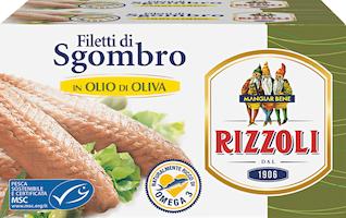 Sgombro in olio di oliva Rizzoli