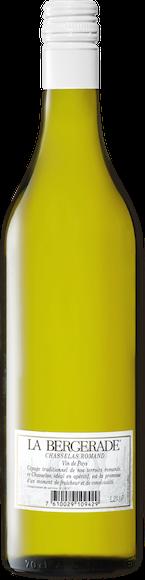 La Bergerade Chasselas Romand Vin de Pays Zurück