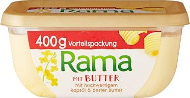 Rama Margarine mit Butter