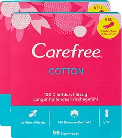 Protège-slips Cotton Carefree