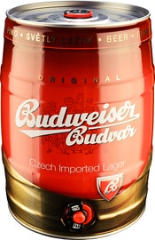 Budweiser Bier Partyfass