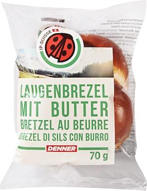 IP-Suisse Laugenbrezel mit Butter