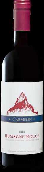 Carmelin Humagne Rouge du Valais AOC Vorderseite