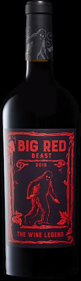 Big Red Beast Côtes Catalanes IGP Vorderseite