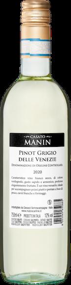 Casato Manin Pinot Grigio delle Venezie DOC Zurück