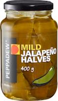 Peppadew Jalapeño-Hälften