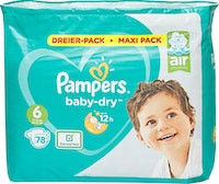 Pampers Baby-Dry Extra Large