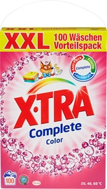 Lessive en poudre Color X-Tra Complete