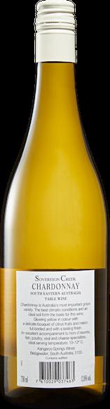 Sovereign Creek Chardonnay Zurück