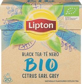 Thé noir Citrus Earl Grey Bio Lipton