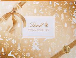 Lindt Connaisseurs Gold & White Christmas