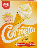 Lusso Cornetto Tropical Fruits
