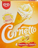Cornetto Tropical Fruits Lusso