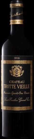 Château Trotte Vieille 1er Grand Cru Classé B Saint-Emilion AOC Vorderseite